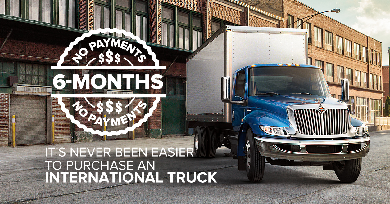 Aucun paiement 6 mois – Modèle International MV