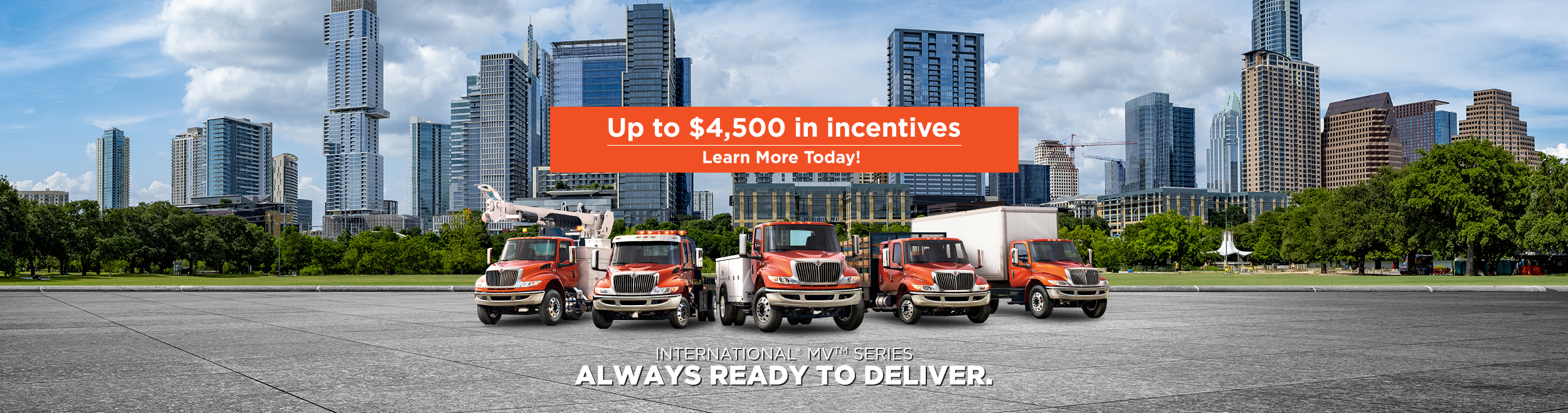 Up to $4,500 in incentives
